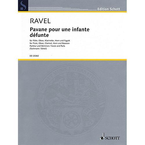 Schott Pavane pour une infante défunte Woodwind Ensemble Series Softcover