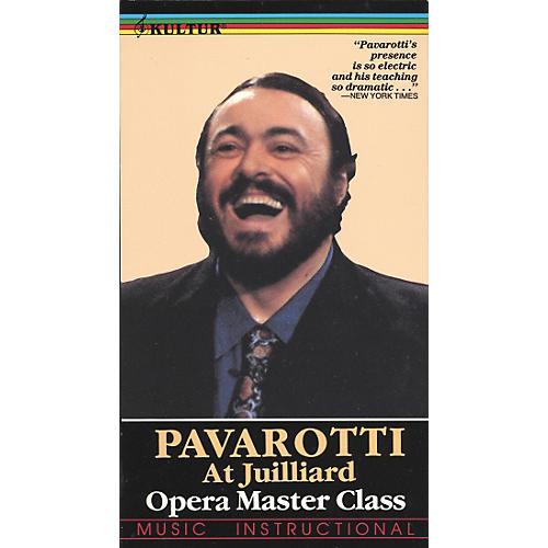 Kultur Pavarotti Master Class at Julliard Video-thumbnail