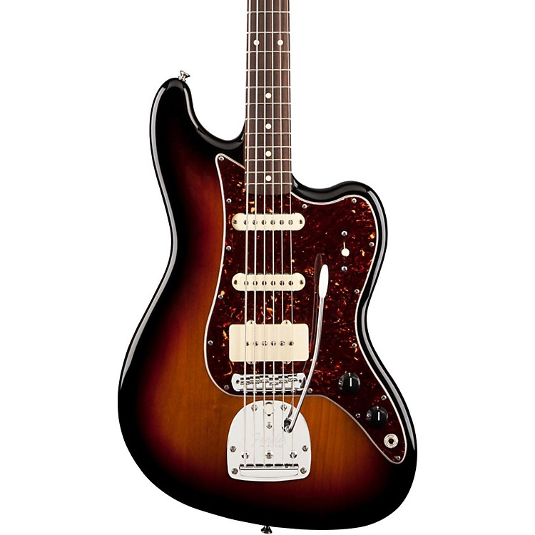 Fender Pawn Shop Bass VI Electric Baritone Guitar 3-Color Sunburst Rosewood Fingerboard