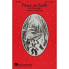 Hal Leonard Peace on Earth (Silent Night) 2-Part arranged by Audrey Snyder