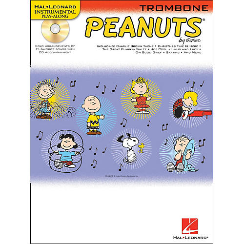 Hal Leonard Peanuts for Trombone - Instrumental Play-Along Book/CD-thumbnail