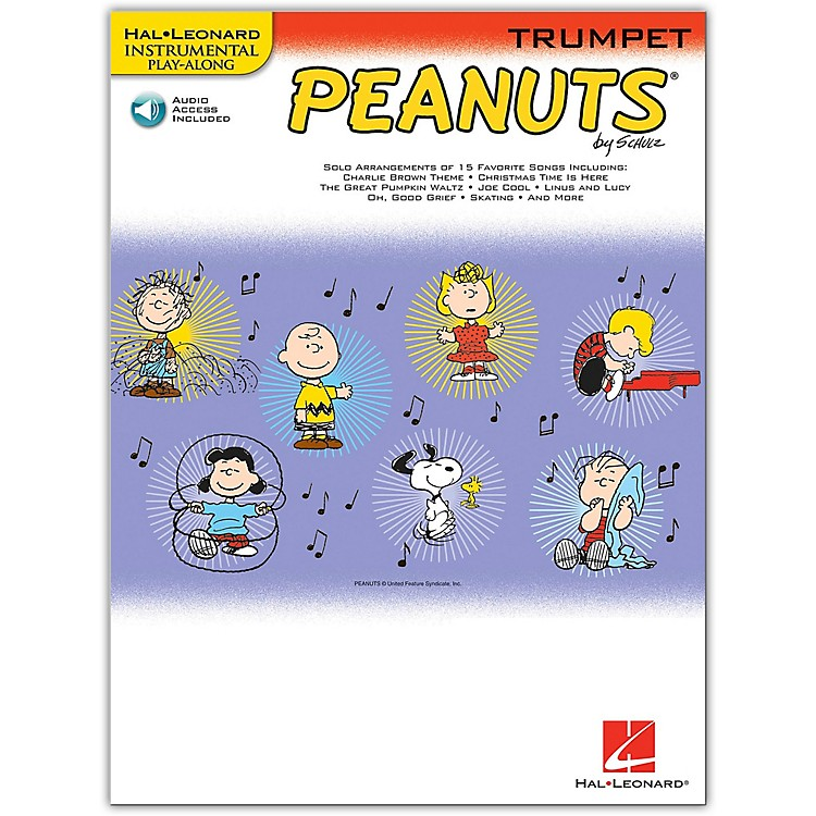 Hal Leonard Peanuts for Trumpet - Instrumental Play-Along Book/CD