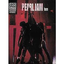 Hal Leonard Pearl Jam Ten Bass Guitar Tab Songbook