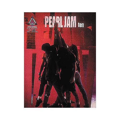 Hal Leonard Pearl Jam Ten Guitar Tab Songbook