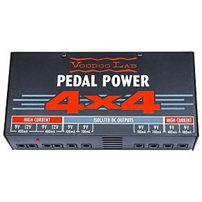 voodoo lab pedal power 4x4 musician 39 s friend. Black Bedroom Furniture Sets. Home Design Ideas