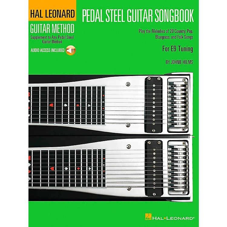 Hal Leonard Pedal Steel Guitar Songbook Supplement To The Pedal Steel Guitar Method Book/CD