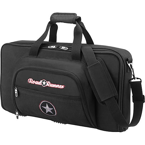 Road Runner Pedalboard All-In-1 Gig Bag Black