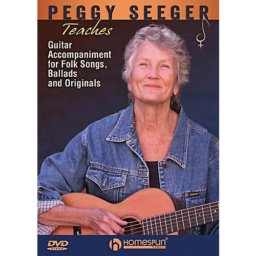 Homespun Peggy Seeger Teaches Guitar Accompaniment For Folk Songs, Ballads And Originals DVD-thumbnail