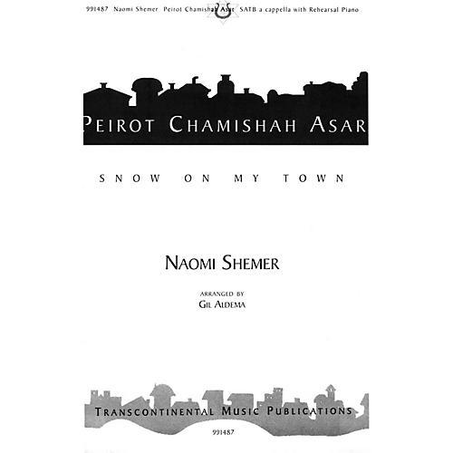 Transcontinental Music Peirot Chamishah Asar (Snow On My Town) SATB arranged by Gil Aldema-thumbnail