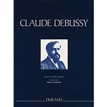 Editions Durand Pelleas et Melisande Critical Edition Piano/Vocal Score, Hardbound by Debussy Edited by Grayson