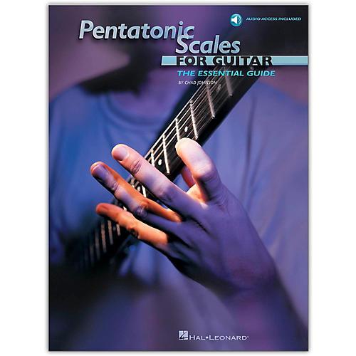 Hal Leonard Pentatonic Scales for Guitar (Book/Online Audio)-thumbnail