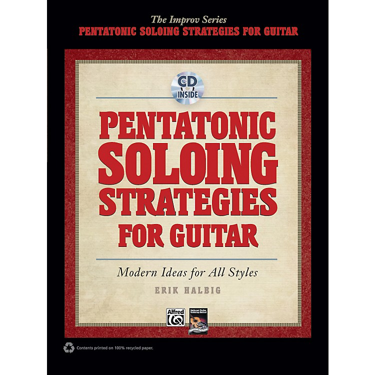 Alfred Pentatonic Soloing Strategies for Guitar Book & CD