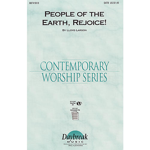 Daybreak Music People of the Earth, Rejoice! SATB composed by Lloyd Larson-thumbnail