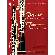 Music Minus One Pepusch - Sonata in C Maj; Telemann - Sonata in C Min Music Minus One BK/CD by Johann Christoph Pepusch