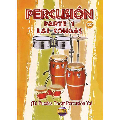 Mel Bay Percusion Parte 1 (DVD), Las Congas - Spanish Only / Solo en espanol