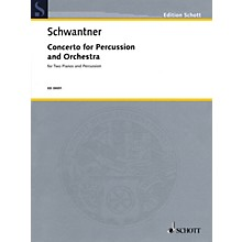 Schott Percussion Concerto No. 1 (Percussion and 2 Pianos, 4 Hands Reduction) Percussion Series