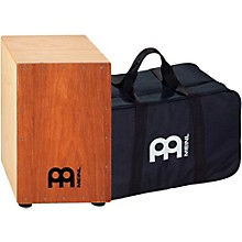 Meinl Percussion HCAJ1MH-M+BAG Headliner Series Stained American White Ash String Cajon with Bag