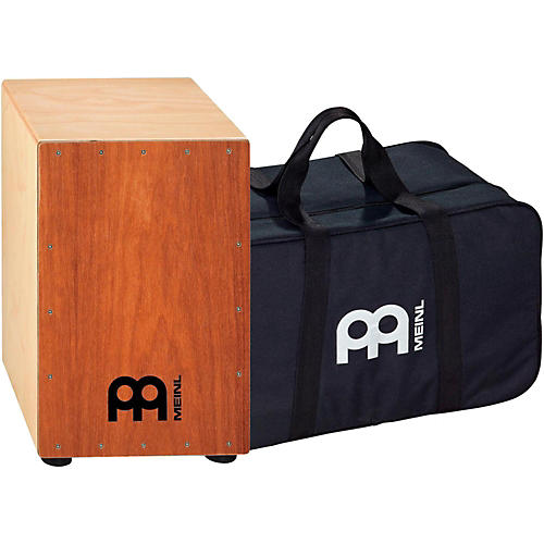 Meinl Percussion HCAJ1MH-M+BAG Headliner Series Stained American White Ash String Cajon with Bag-thumbnail
