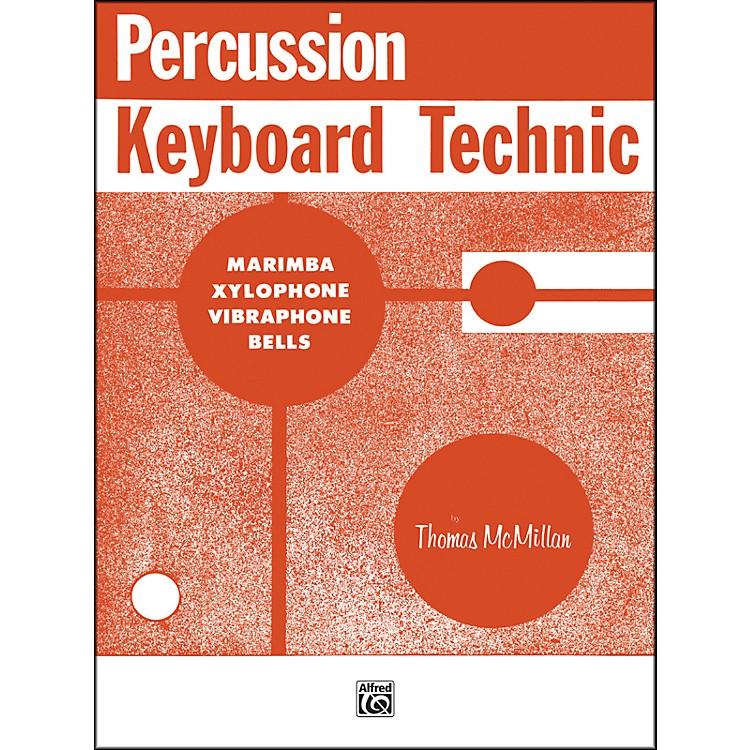 AlfredPercussion Keyboard Technic Book