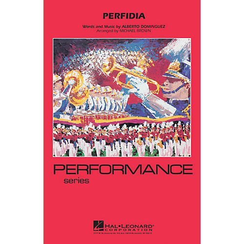 Hal Leonard Perfidia Marching Band Level 4 Arranged by Michael Brown-thumbnail