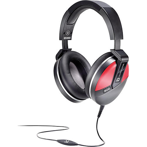 Ultrasone Performance 820 Closed Back Headphones Red