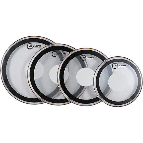 Aquarian Performance II Power Dot Drumhead  15 in.