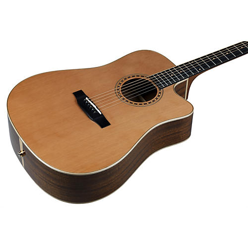 Bedell Performance Monitor Series THCE-17-G Dreadnought Acoustic-Electric Guitar-thumbnail
