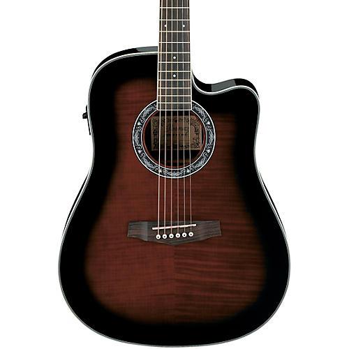 Ibanez Performance PF28ECE Dreadnought Cutaway Acoustic-Electric Guitar-thumbnail