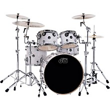 DW Performance Series 5-Piece Shell Pack Level 1 White Marine Finish with Chrome Hardware