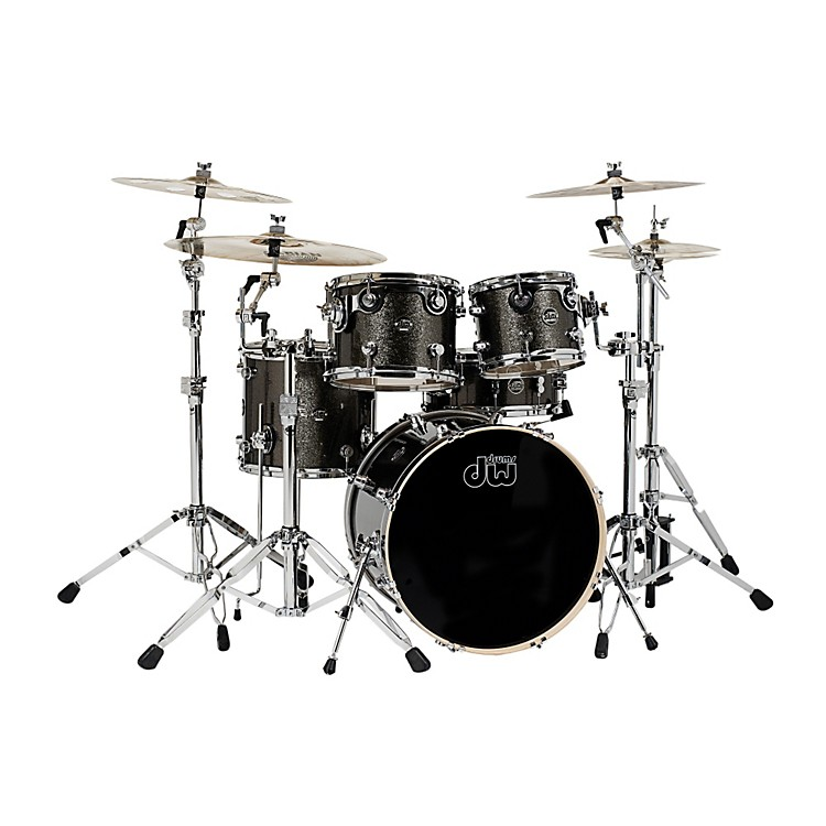 DW Performance Series 5-Piece Shell Pack Pewter Sparkle