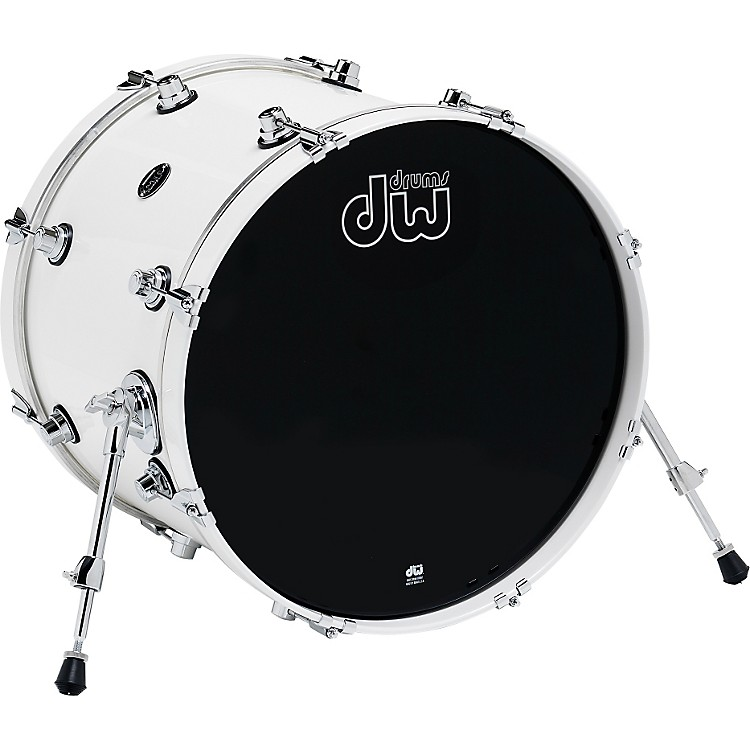 DW Performance Series Bass Drum 16x20 White Ice