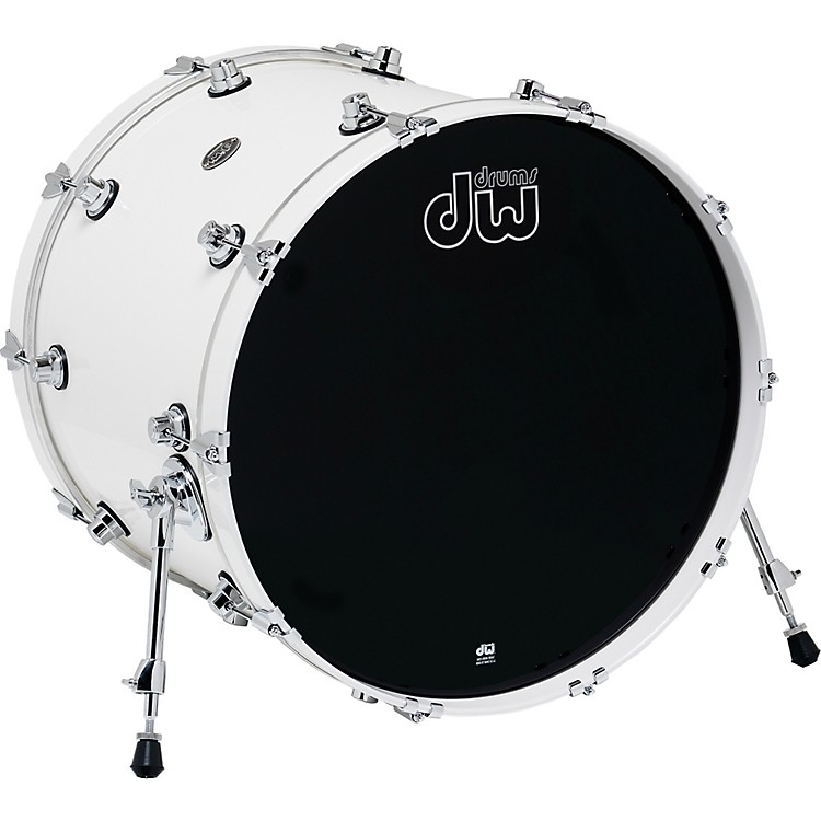 DW Performance Series Bass Drum 18x22 White Ice