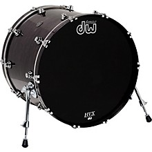 DW Performance Series Bass Drum 20 x 16 in. Ebony Stain Lacquer