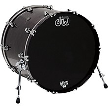 DW Performance Series Bass Drum 22 x 18 in. Ebony Stain Lacquer