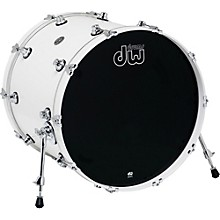 DW Performance Series Bass Drum 22 x 18 in. White Ice