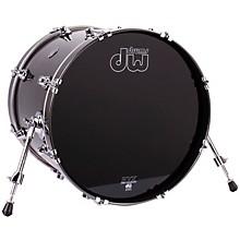 DW Performance Series Bass Drum Gun Metal Metallic Lacquer 16x20