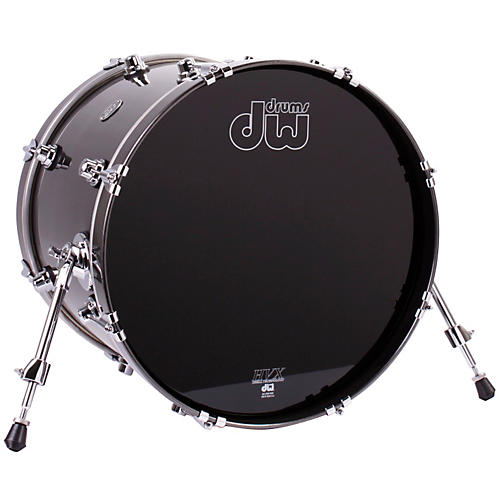 DW Performance Series Bass Drum Gun Metal Metallic Lacquer 16x20