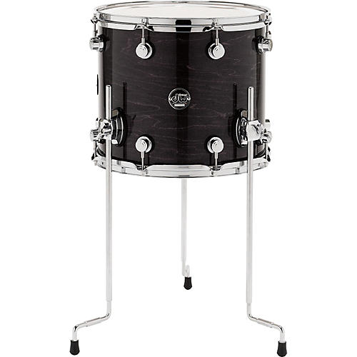 DW Performance Series Floor Tom 14 x 12 in. Ebony Stain Lacquer