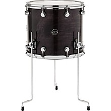 DW Performance Series Floor Tom 16 x 14 in. Ebony Stain Lacquer