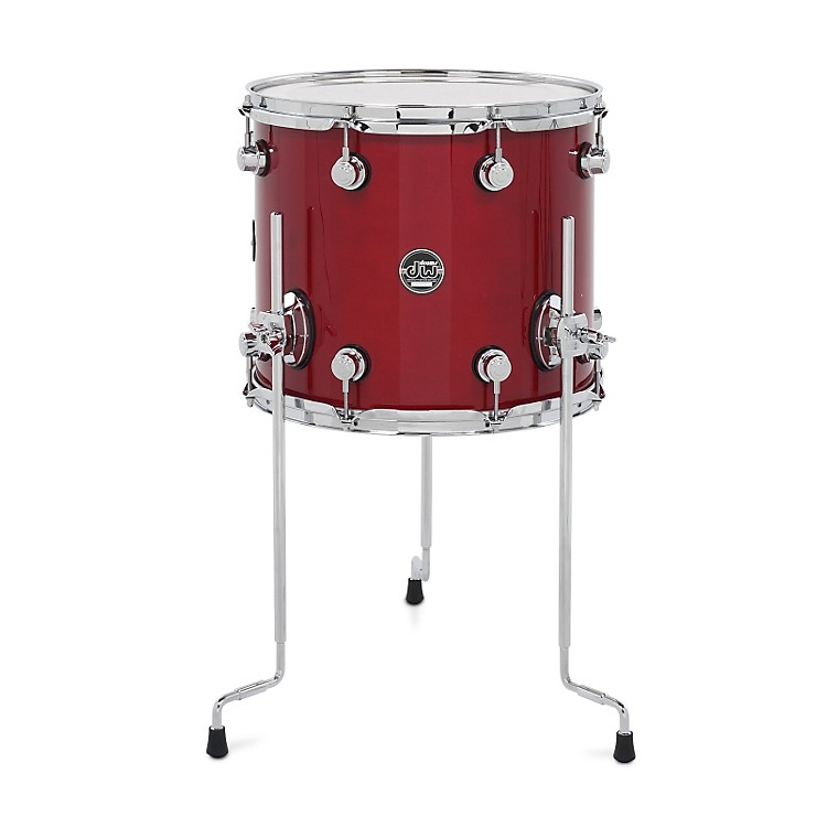 DW Performance Series Floor Tom Candy Apple Lacquer 12x14