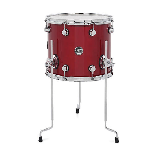 DW Performance Series Floor Tom Candy Apple Lacquer 14 x 12 in.