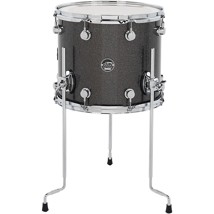 DW Performance Series Floor Tom Black Diamond 14x16