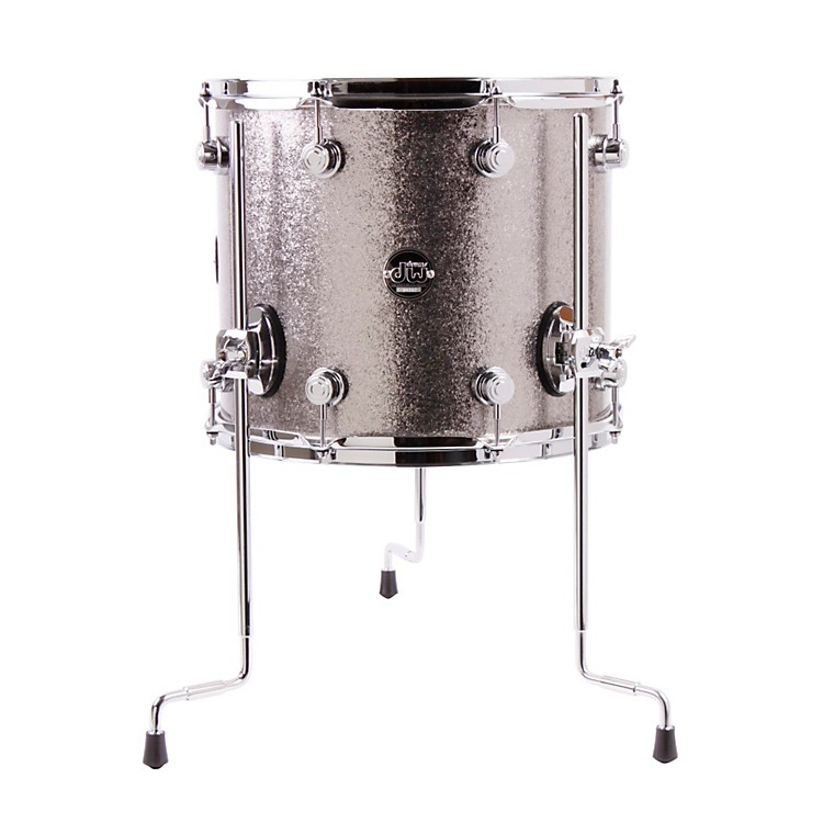 DW Performance Series Floor Tom White Marine 14x16