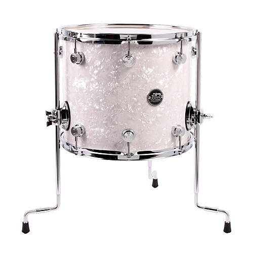 DW Performance Series Floor Tom White Marine 14 x 12 in.