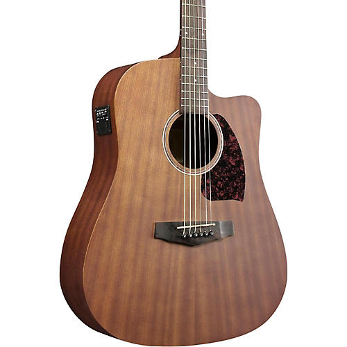 Ibanez Performance Series PF12MHCEOPN Mahogany Dreadnought Acoustic-Electric Guitar