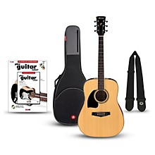 Ibanez Performance Series PF15 Left Handed Dreadnought Acoustic Guitar Bundle