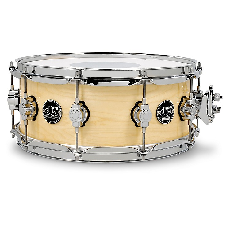 DWPerformance Series Snare Drum14x5.5 InchNatural Lacquer