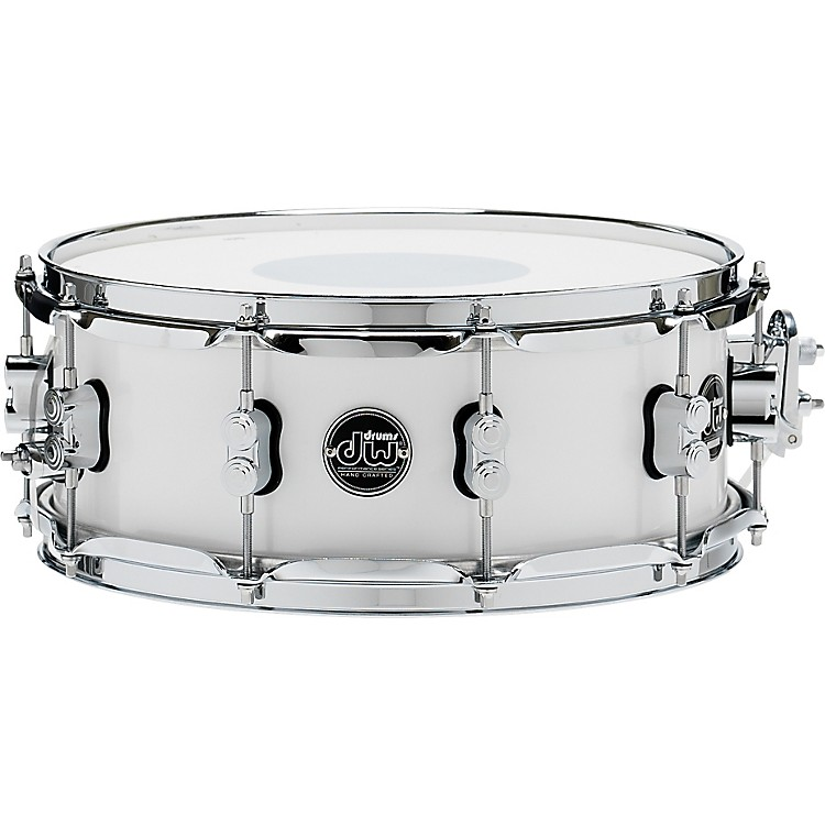 DW Performance Series Snare Drum 14x5.5 Inch White Ice