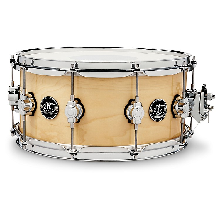 DW Performance Series Snare Drum 14x6.5 Inch Natural Lacquer