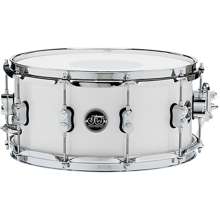 DW Performance Series Snare Drum 14x6.5 Inch Ebony Stain Lacquer